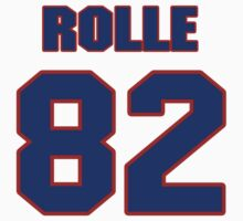 National football player Butch Rolle jersey 82 by imsport