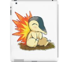 Pokemon Cute Cyndaquil iPad Case/Skin