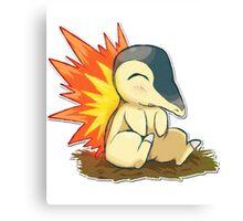 Pokemon Cute Cyndaquil Canvas Print