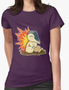 Pokemon Cute Cyndaquil Womens Fitted T-Shirt
