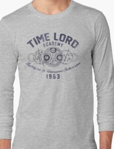 Time Lord Academy V2 Long Sleeve T-Shirt