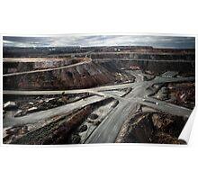 The Superpit goldmine at Kalgoorie - I (photo Dave Carter) Poster