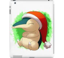 Pokemon Christmas Santa Cyndaquil iPad Case/Skin