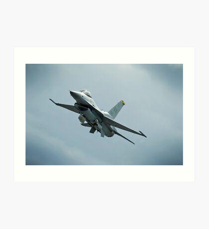 USAF F-16 Art Print