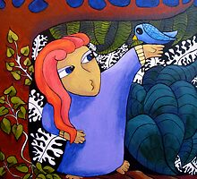 Beauty and Bird by Ingrid Russell
