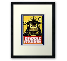 OBEY ROBBIE THE ROBOT  Framed Print