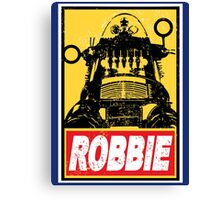 OBEY ROBBIE THE ROBOT  Canvas Print