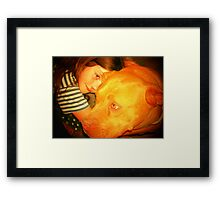 Zemi and Bram Framed Print