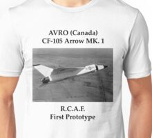 AVRO Arrow - Rare Aircraft / Airplane Photograph Unisex T-Shirt