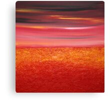 Sunset after Storm  Canvas Print