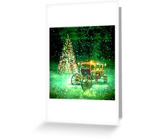 It is not in power of our will not to wish to be happy. Greeting Card