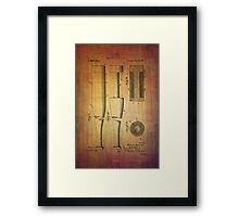 Baseball Bat From 1919 Framed Print