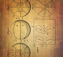 Basket Ball Patent From 1929 by Eti Reid