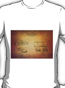 Ats Gt Porshe Patent From 1963 T-Shirt
