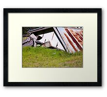 As l  lay down to sleep Framed Print