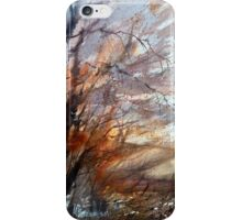 Autumn wind on the edge of the field iPhone Case/Skin