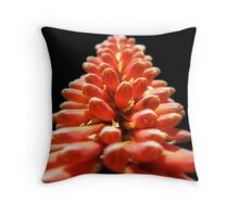 Red and hot... Throw Pillow