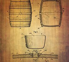 J.c.roth Beer Keg Patent From 1898 by Eti Reid