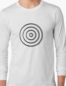 Mandala 5 Back In Black Long Sleeve T-Shirt