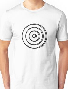 Mandala 5 Back In Black Unisex T-Shirt