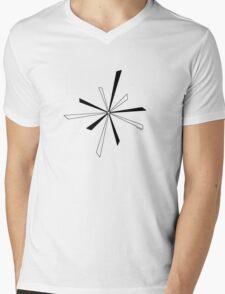 Seko designs 7 Back In Black Mens V-Neck T-Shirt
