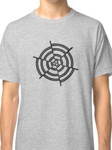 Mandala 2 Back In Black Classic T-Shirt