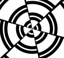 Mandala 2 Back In Black Sticker