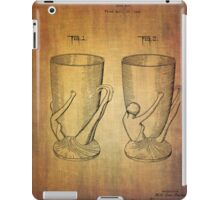 Beer Mugs Patent From 1934 iPad Case/Skin