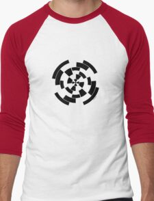 Mandala 10 Back In Black Men's Baseball ¾ T-Shirt