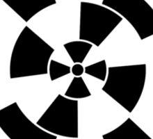 Mandala 10 Back In Black Sticker