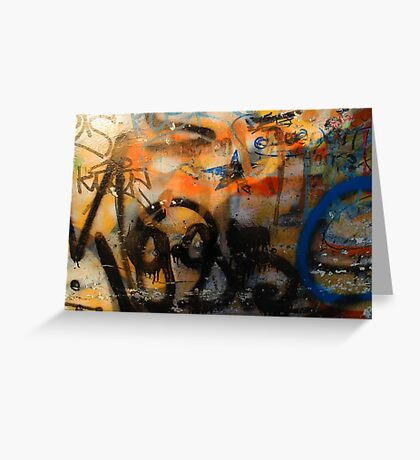 Urban style Greeting Card