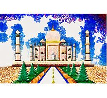 The Taj Mahal a Monument to Love - all products bar duvet Photographic Print