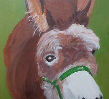 Hetty  (acrylic on canvas)  A.P.Allen 2006 by yorkyanne