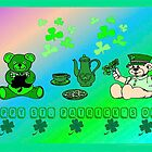 Irish Party Bears by kabsannie