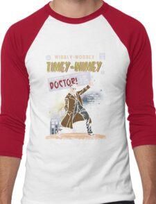Timey-Wimey Men's Baseball ¾ T-Shirt