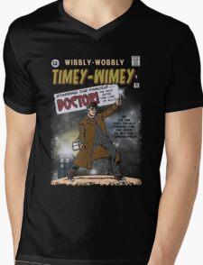 Timey-Wimey Mens V-Neck T-Shirt