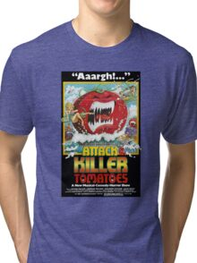Attack Of The Killer Tomatoes Tri-blend T-Shirt