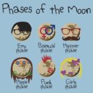 Phases Of The Moon by jezkemp