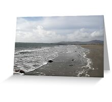 DESERTED IRISH BEACH Greeting Card