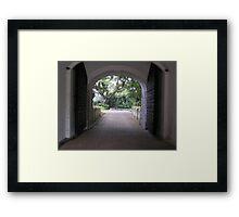 Fort Canning - Singapore Framed Print