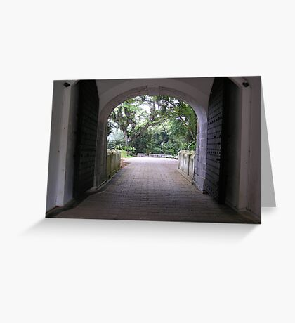 Fort Canning - Singapore Greeting Card