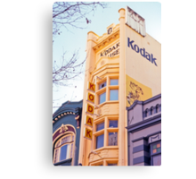 Kodak House Hobart Canvas Print