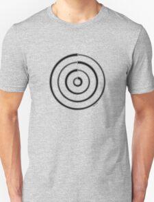 Mandala 27 Back In Black T-Shirt