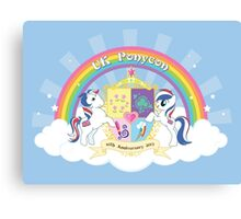 UK Ponycon ~ 10th Anniversary 2013 Canvas Print