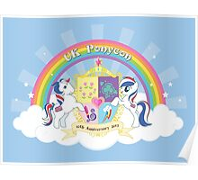 UK Ponycon ~ 10th Anniversary 2013 Poster