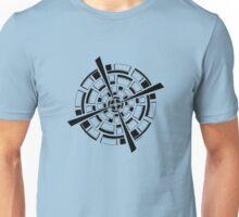 Mandala 26 Back In Black Unisex T-Shirt