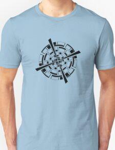 Mandala 26 Back In Black T-Shirt