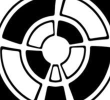 Mandala 25 Back In Black Sticker