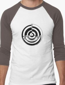 Mandala 19 Back In Black Men's Baseball ¾ T-Shirt