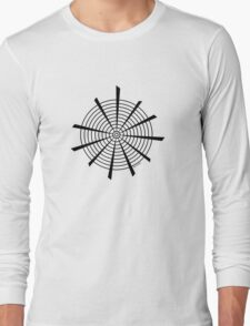 Mandala 18 Back In Black Long Sleeve T-Shirt